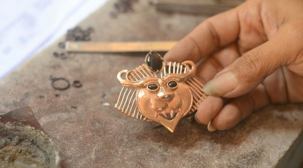 Series : Journey of Copper Brooch
